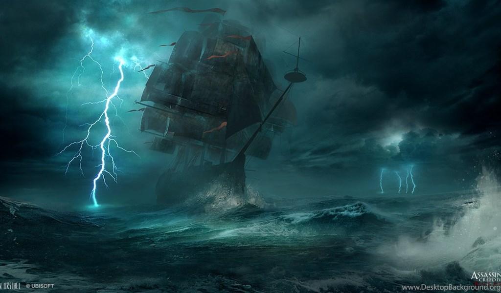 Assassin S Creed 4 Black Flag Concept Art By Janurschel On Desktop Background