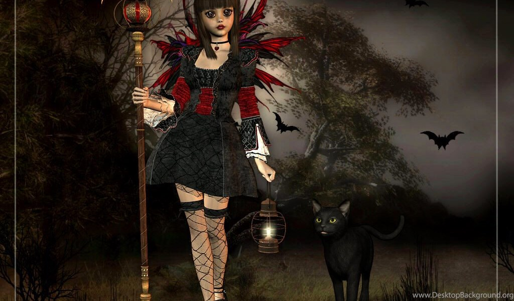 Wallpapers Gothic Fairies Please Enable Javascript To View The