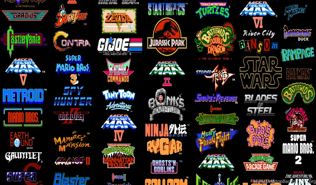 Why I Love Retro Games Desktop Background
