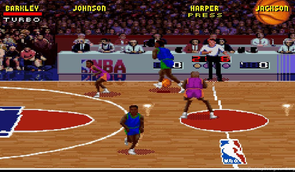 NBA Jam (USA) ROM < SNES ROMs Desktop Background