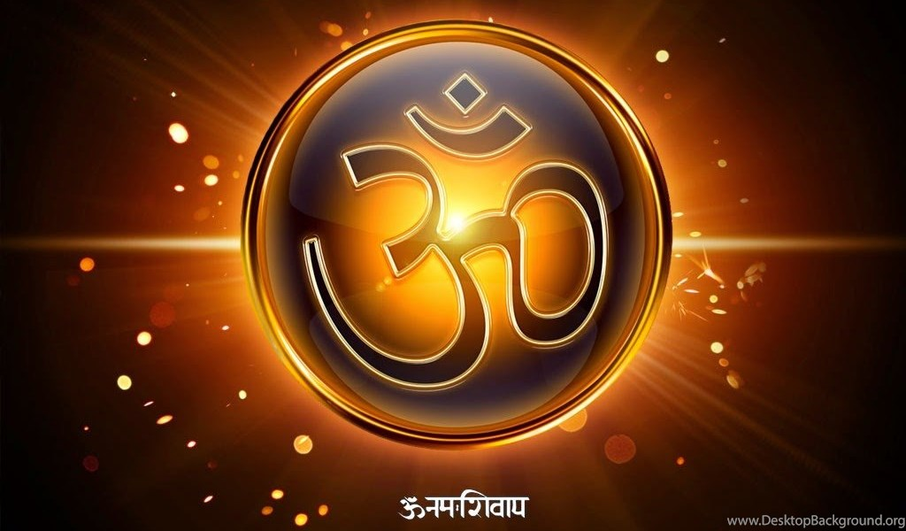 Swastika Symbol And Om Symbol Hd Wallpaper Images Pictures Free
