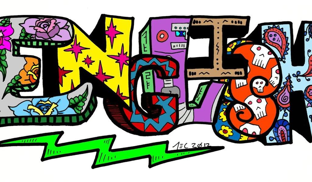 граффити на английском картинки можно использовать яркие