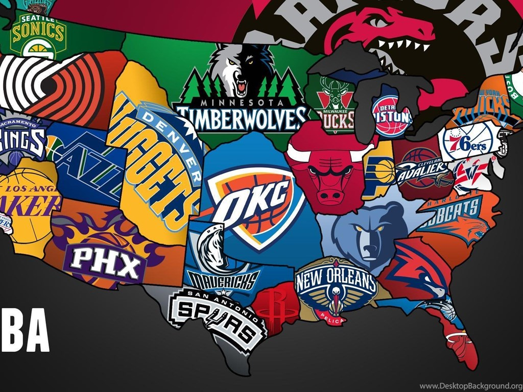 Cool map of nba teams 1920x1080 full hd 16 9 wallpapers - Nba all teams wallpaper ...