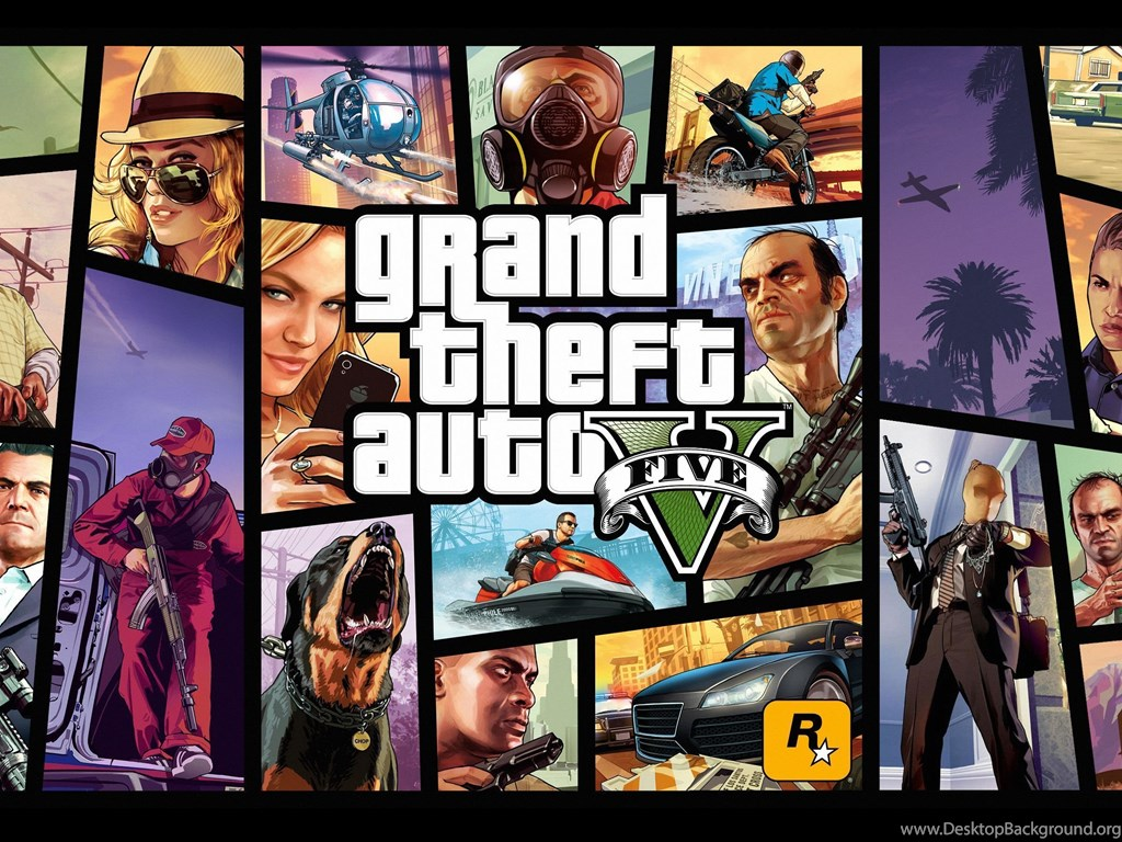 Gta 5 Game Hd Wallpapers Desktop Background