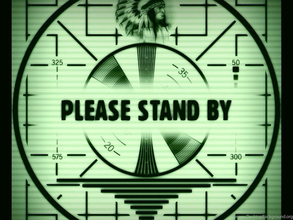 Deviantart More Like Fallout Please Stand By Iphone 5 6 Lock