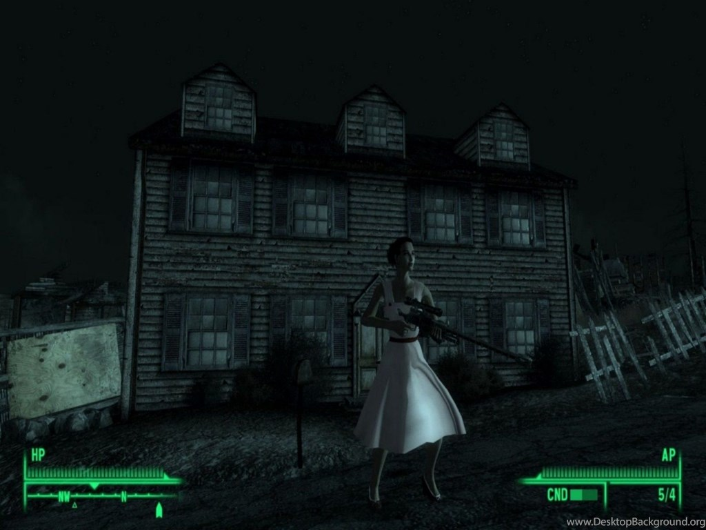Mac Wallpapers Fallout 3 Mods Night Vision 1600x1200 223622 Desktop Background