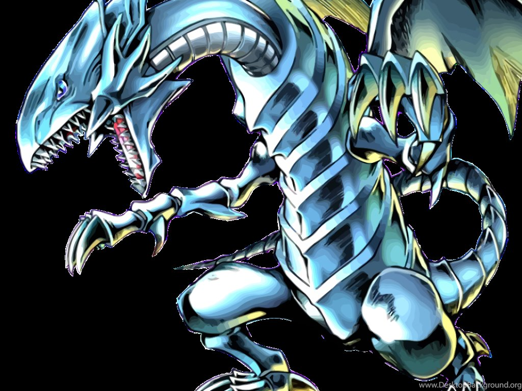Blue Eyes White Dragon And Red Eyes Black Dragon Wallpapers Desktop Background