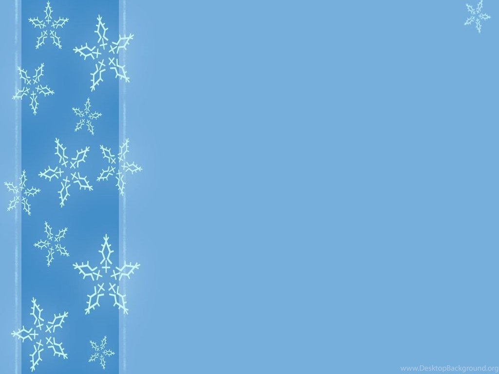 Free A Winter With Snowflakes Backgrounds For PowerPoint ...