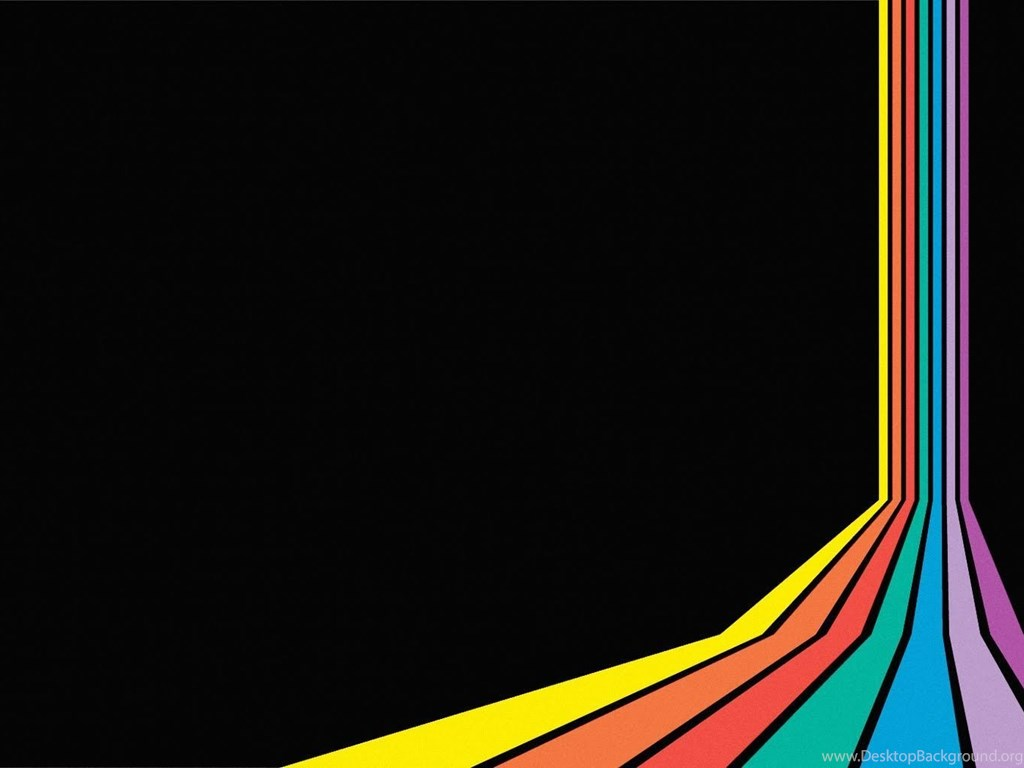 free left rainbow backgrounds for powerpoint colors ppt