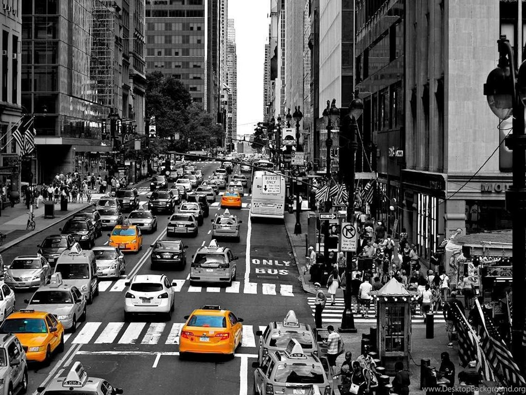 New York City Streets Background Wallpaper New York City