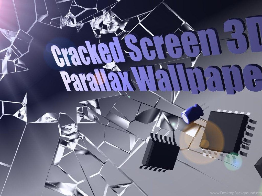Cracked Screen 3D Parallax HD Android Apps And Tests