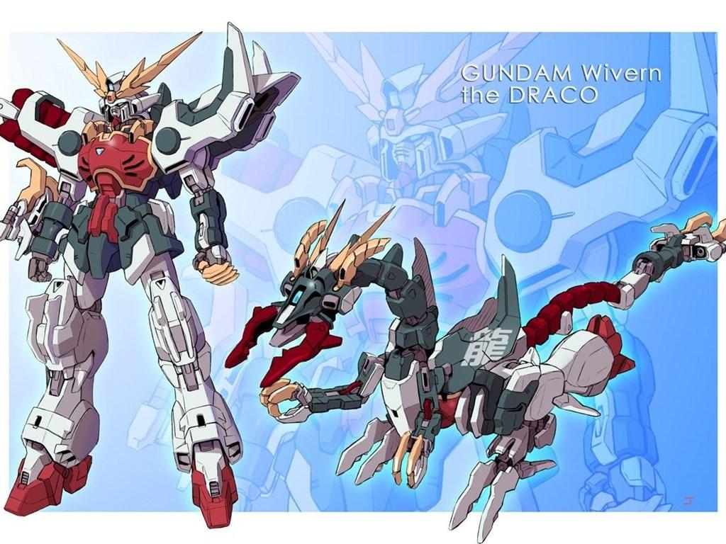 Gundam Wing Shenlong Best Widescreen Backgrounds Awesome