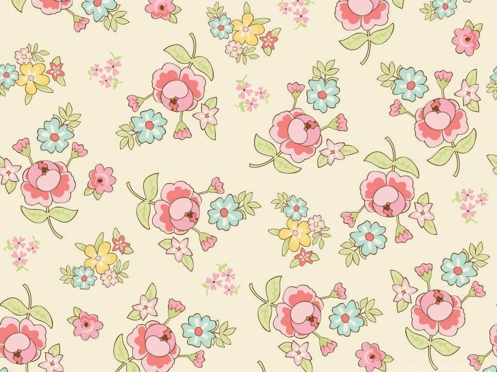 Vintage Floral Wallpapers Hd Desktop Background