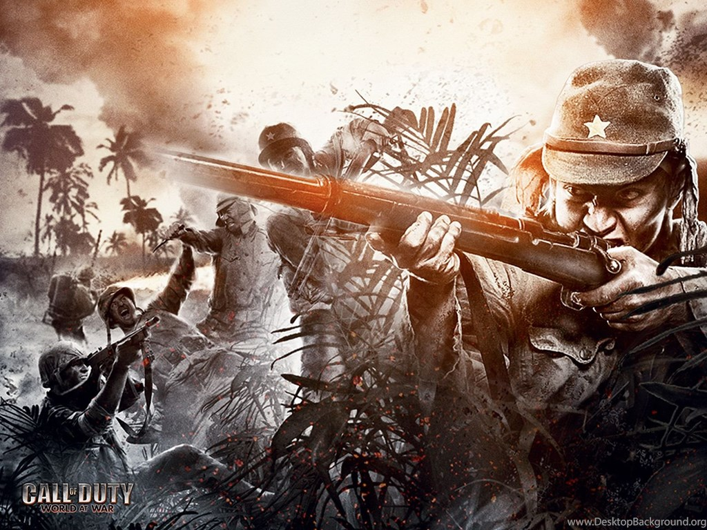Hd Wallpapers Call Of Duty 5 World At War Desktop Background