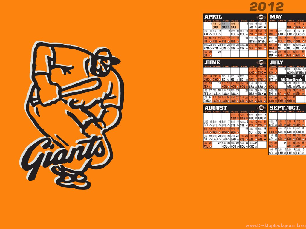 sf giants 2015 schedule wallpapers wallpapers cave desktop background