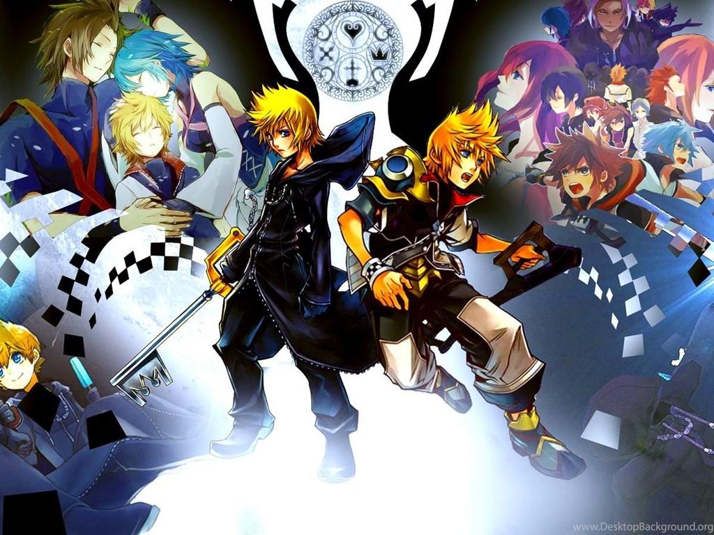 Kingdom Hearts Wallpapers By Sasori640 On Deviantart Desktop