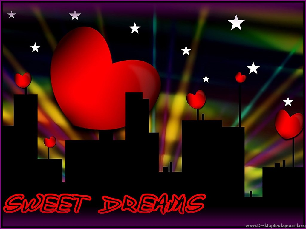 Good Night Sweet Love Heart Hd Hd Wallpapers Desktop Background