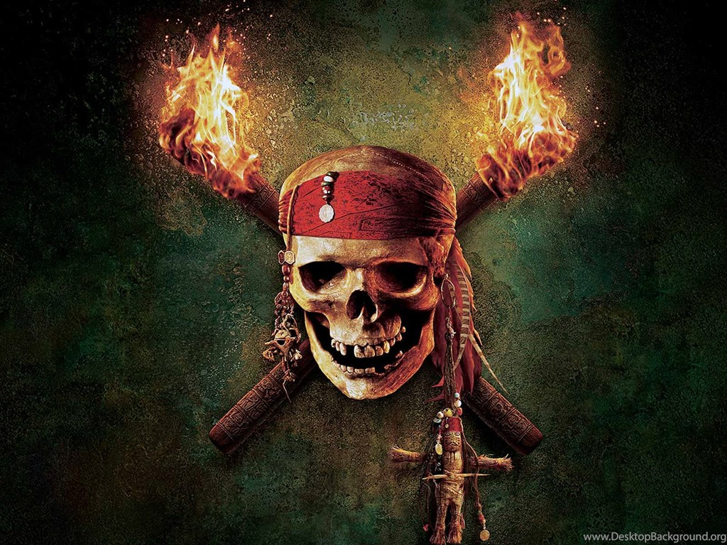 Skull Pirates Caribbean Wallpapers Hd Desktop Background