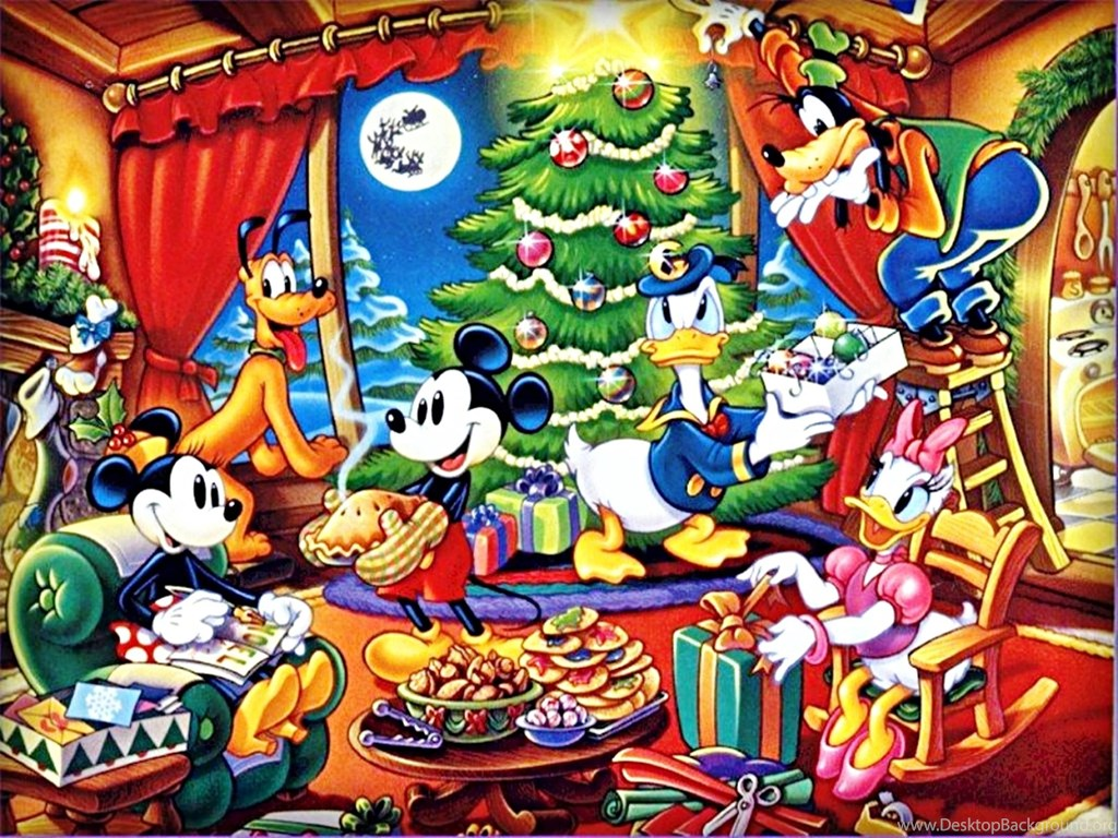 400874 walt disney wallpapers the disney gang christmas walt
