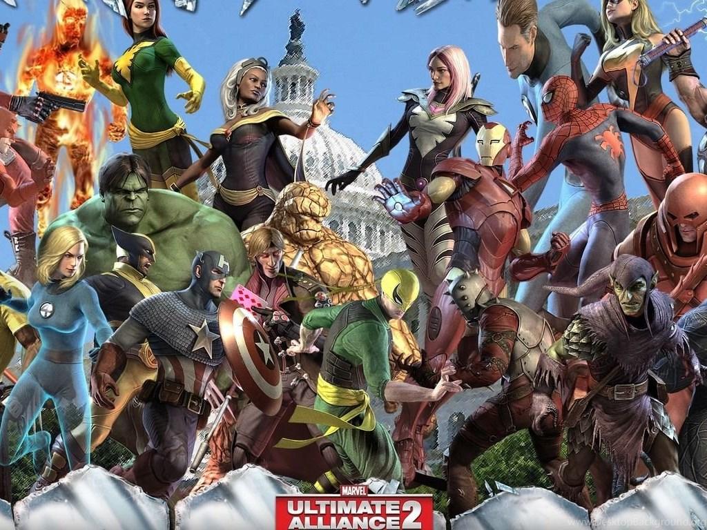 Marvel Ultimate Alliance 2 Wallpapers Game Wallpapers Desktop
