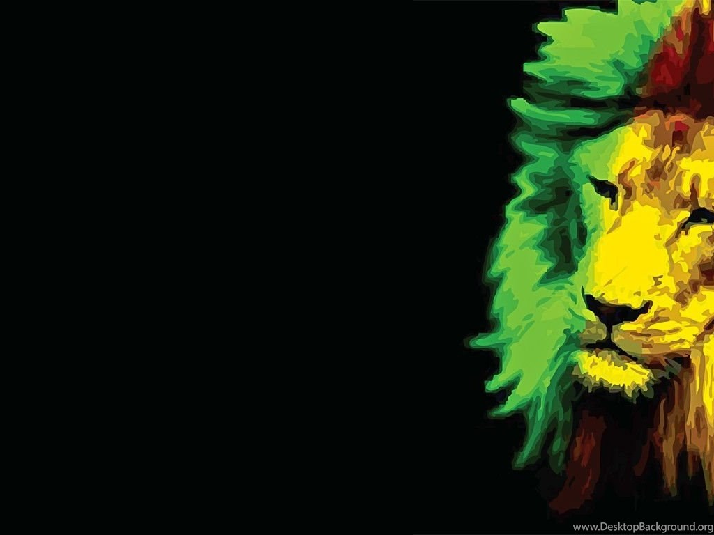 Rasta Lion Wallpapers Cave Desktop Background