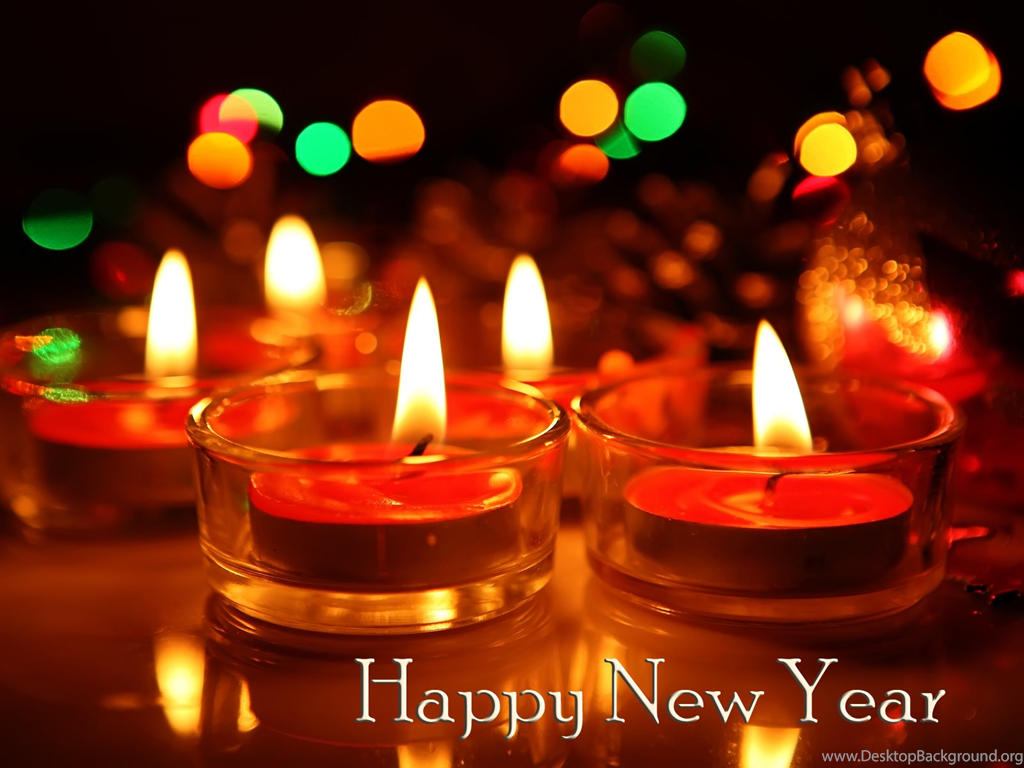 Happy New Year Wallpaper 2016 Candles Png Desktop Background