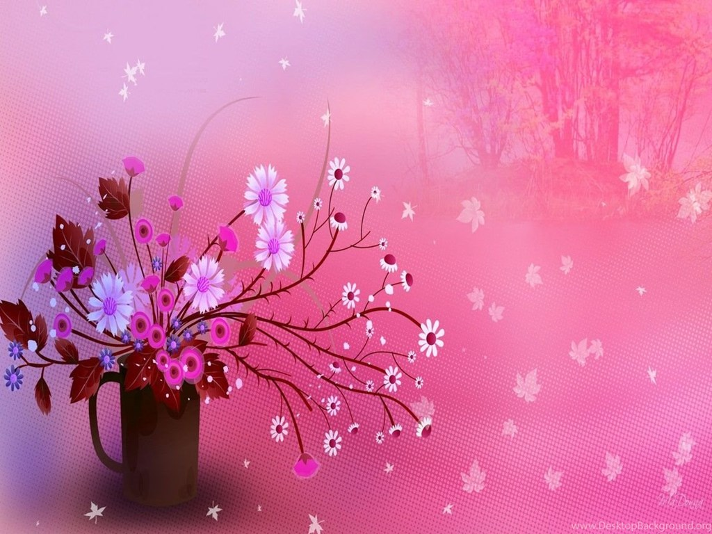 Gallery For Pretty Girly Wallpaper Backgrounds Desktop Background