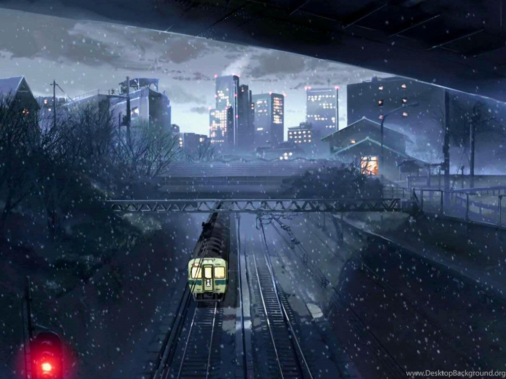 5 Centimeters Per Second Wallpapers Hd Download Desktop Background