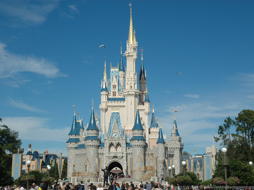 Walt Disney Castle Wallpaper Hd