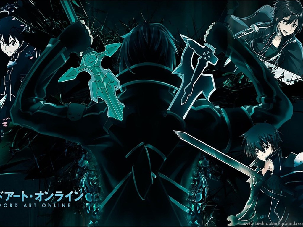 Sword Art Online Kirito Desktop Backgrounds Wallpapers 2895