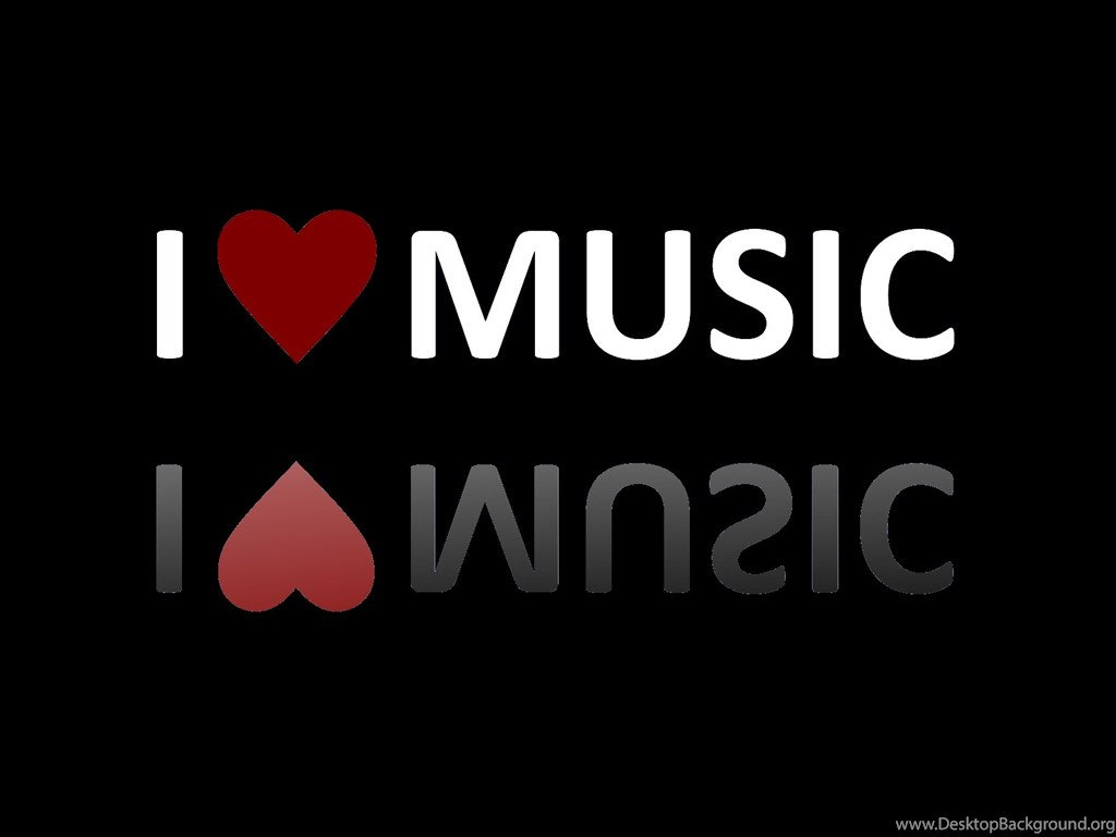 I Love Music Black Background Wallpapers Desktop