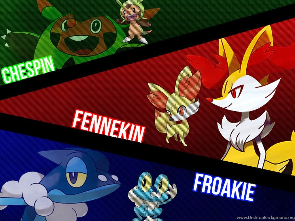 Pokemon X And Y Starter WallPaper By CarlosFarts88 On DeviantArt