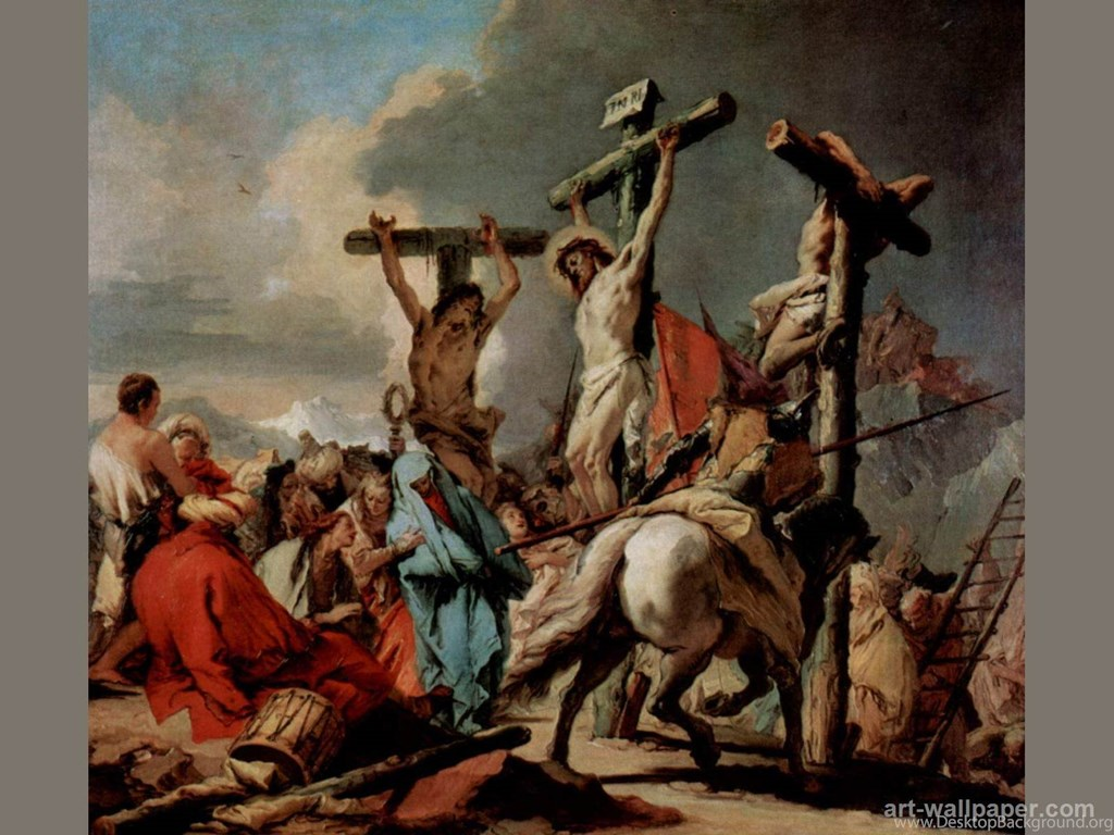 Pin Jesus Christ Crucifixion Wallpapers On Pinterest ...
