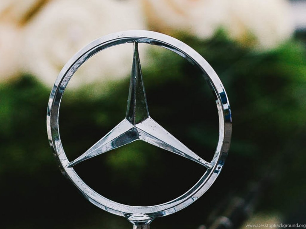 Hd Backgrounds Mercedes Benz Logo Badge Vintage Car Wallpapers