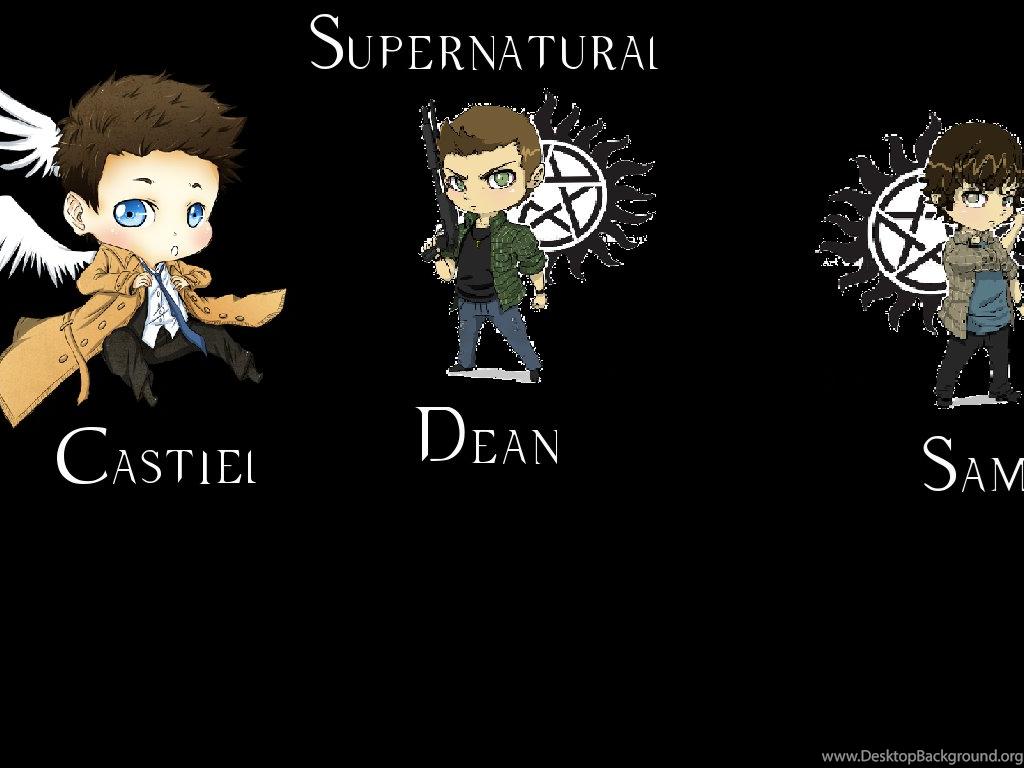 Deviantart More Like Castiel Dean Sam Chibi Supernatural