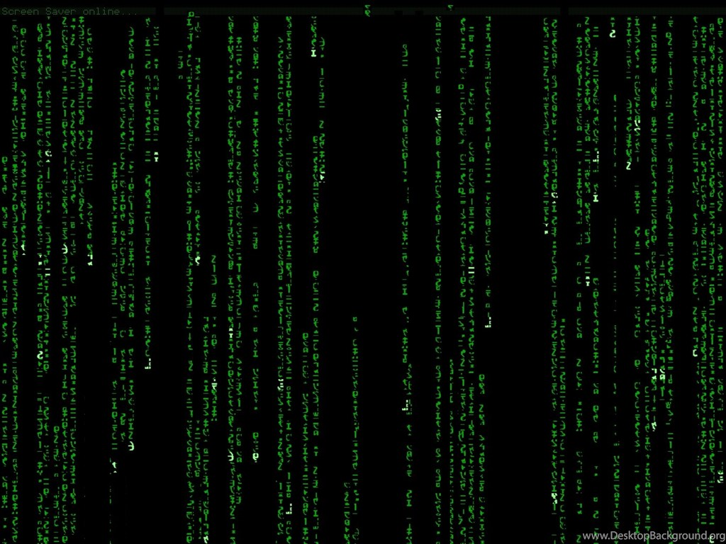wallpapers of the day: matrix desktop background