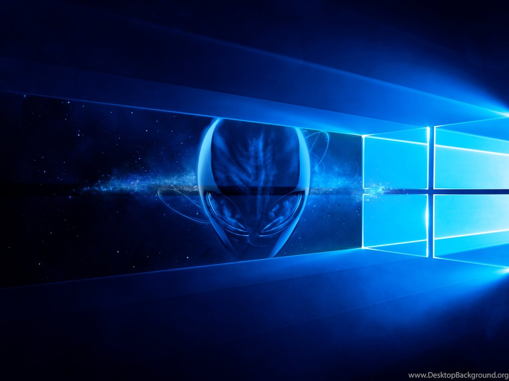 Other wallpaper alienware blue desktop backgrounds - Windows 10 4k wallpaper pack ...