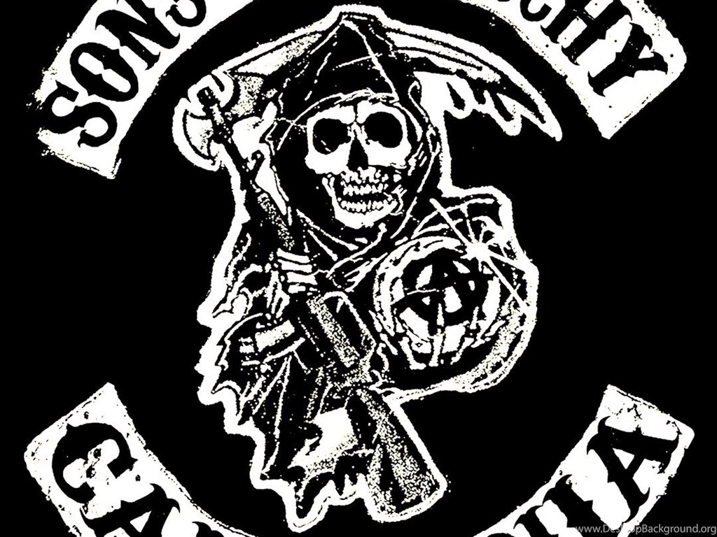 Sons Of Anarchy Reaper Logo Android Wallpapers Free Download