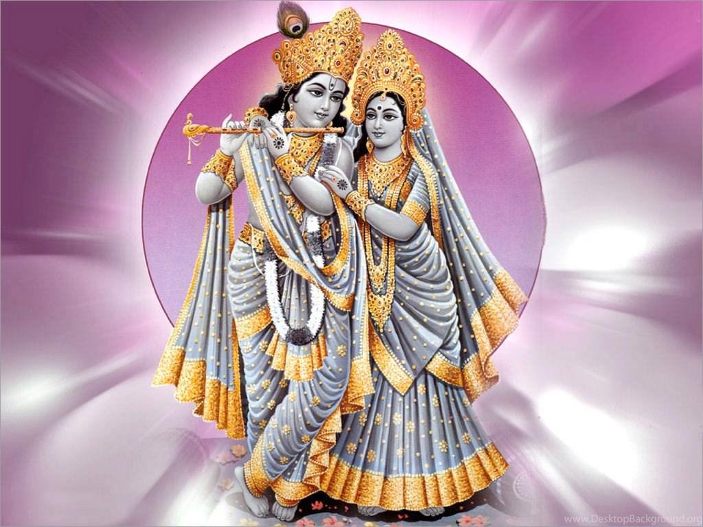 Radhe Krishna Love Janmashtami HD Wallpapers Desktop Background