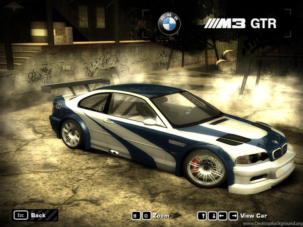 Nfs Most Wanted Bmw Wallpapersneed For Speed Most Wanted Cars Desktop Background