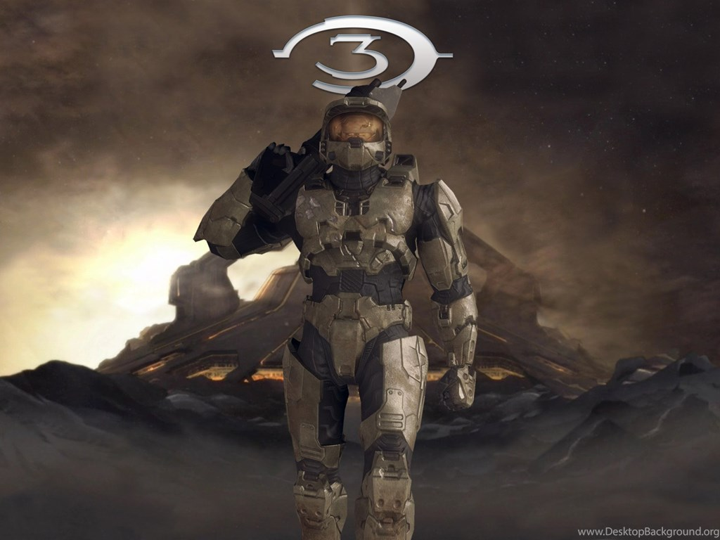High Resolution Halo 3 Master Chief Wallpapers Hd 6 Game Full Size