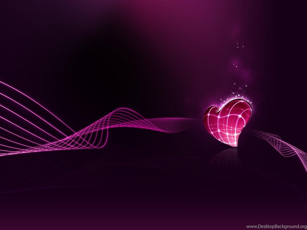 Dark Pink Heart Photo By Devilsdaughter333 Desktop Background