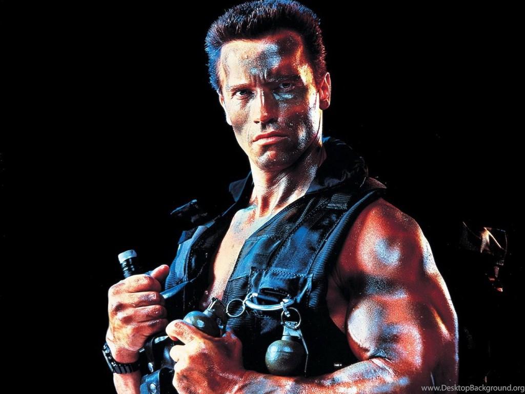 Arnold Schwarzenegger Conquer Wallpaper