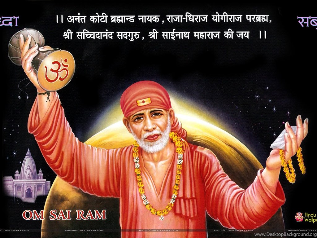 Shirdi Sai Baba Hd Wallpapers Full Size Download Desktop Background