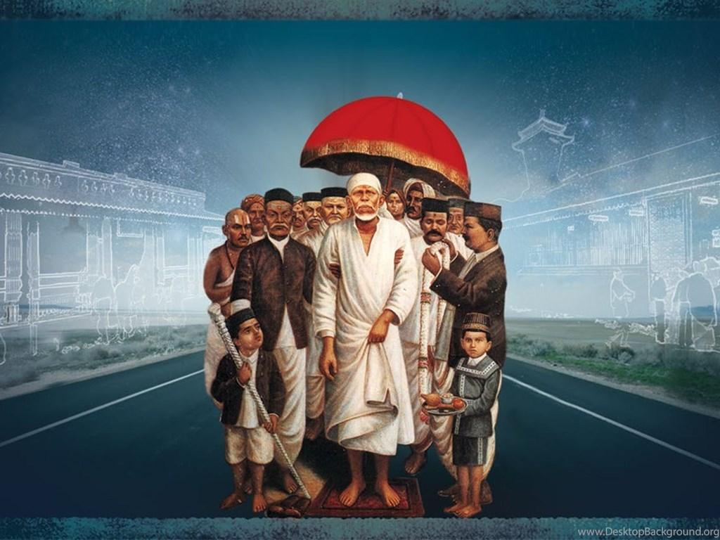 Shirdi Sai Baba Hd Wallpapers Desktop Background