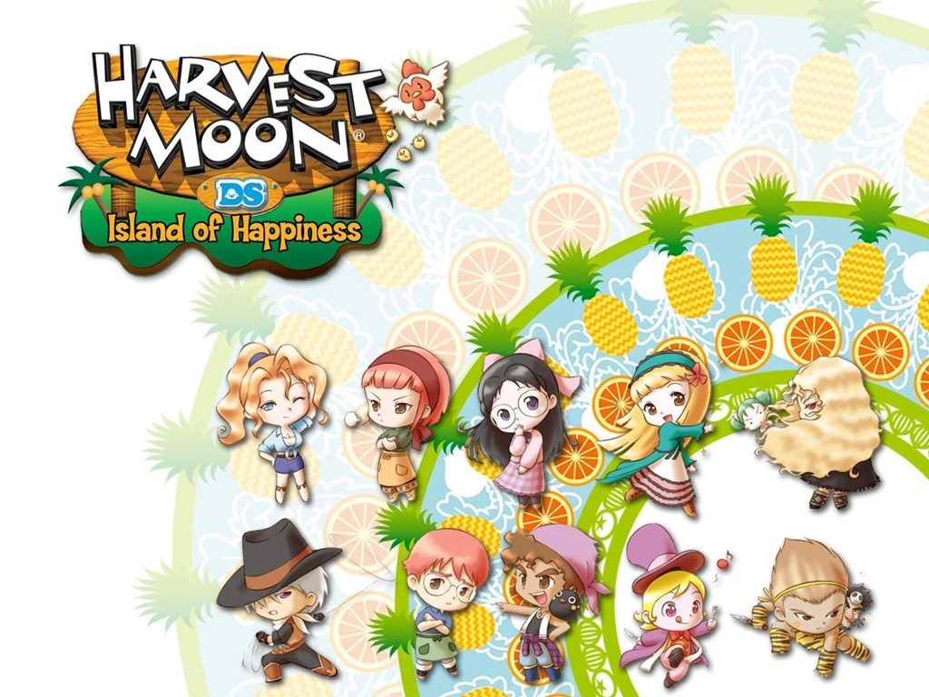 Wallpapers For Harvest Moon Back To Nature Wallpapers Desktop Background
