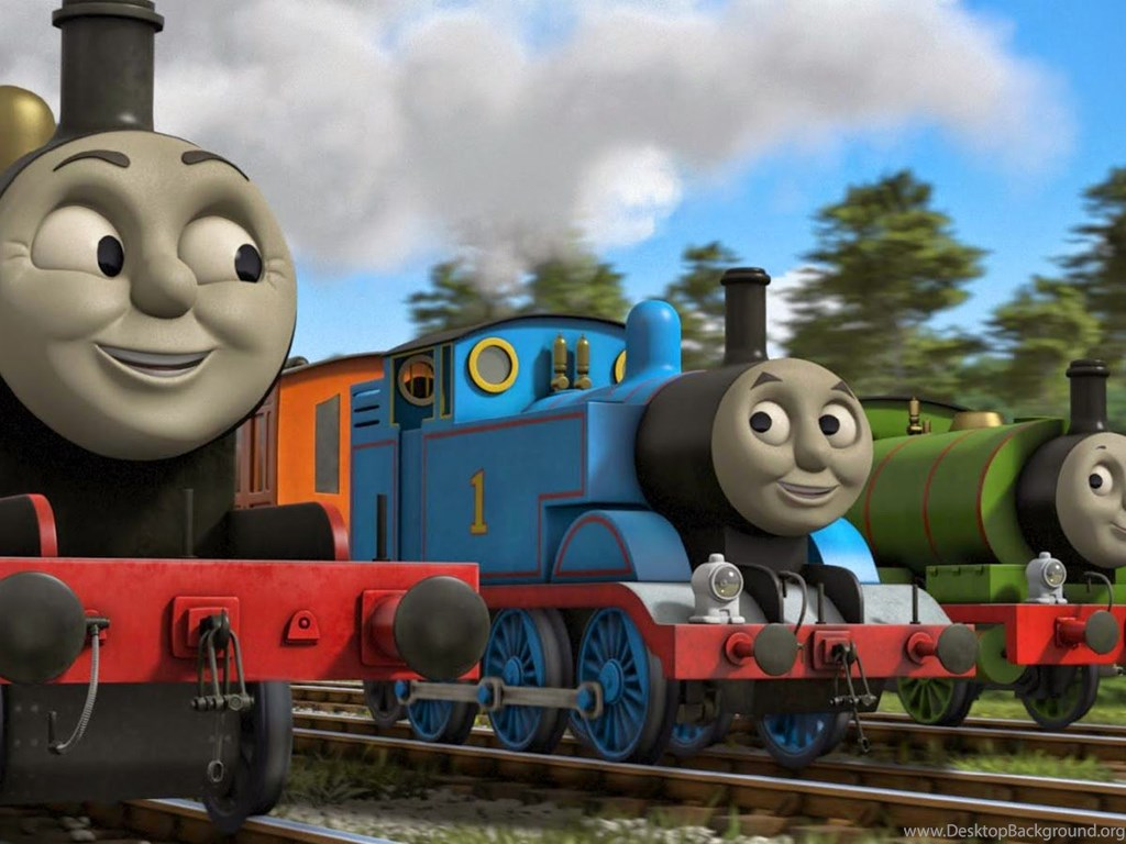 Gambar Thomas & Friends Wallpapers HD Tank Engine Desktop