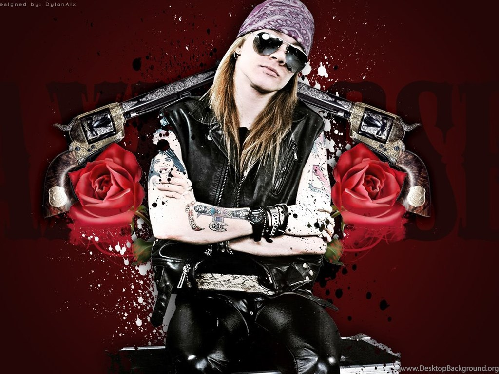 Axl Rose Guns N' Roses Wallpapers Desktop Background