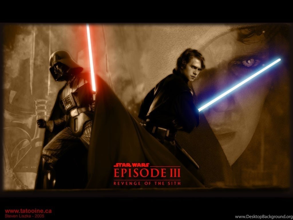 Anakin And Darth Star Wars Revenge Of The Sith Wallpapers Desktop Background