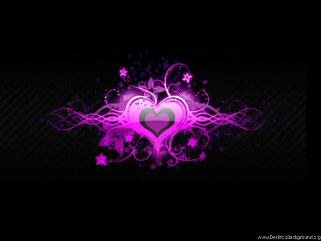 Wallpapers Purple Hearts Live Chat By Liveperson Heart